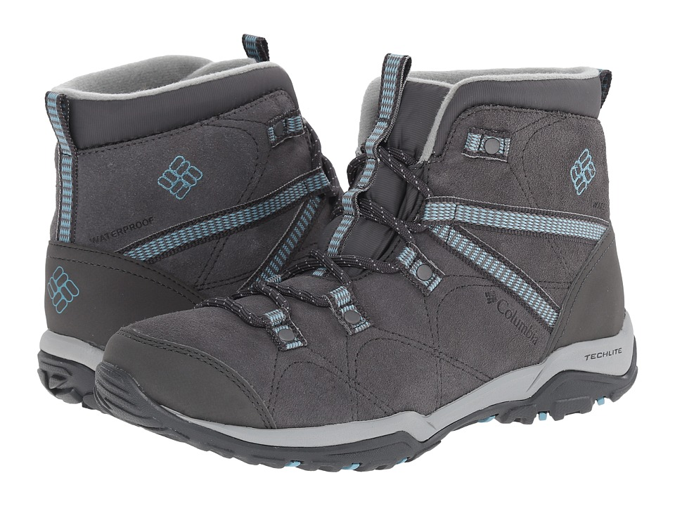 Columbia - Minx Fire Mid Waterproof (Shale/Aqua) Women