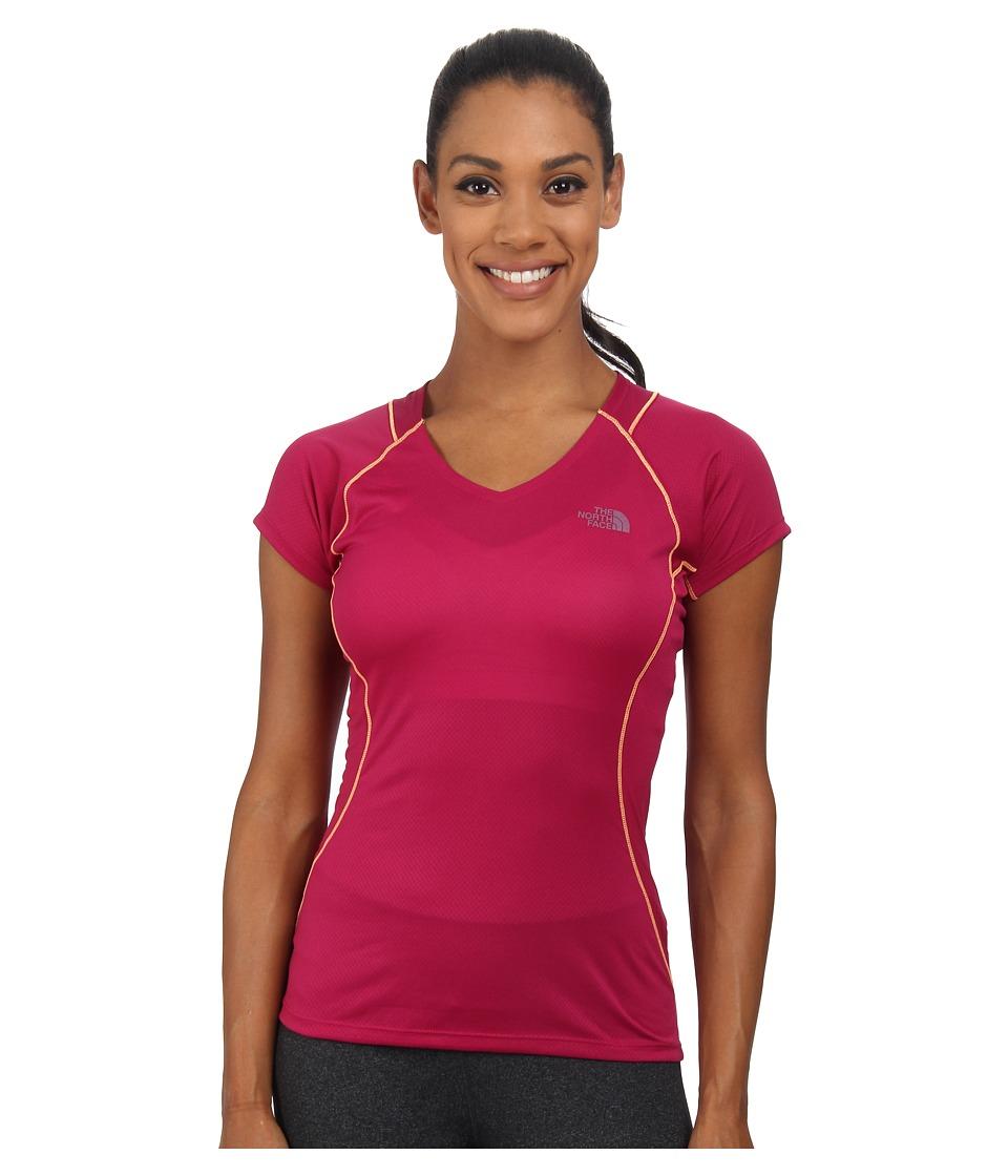 The North Face - Better Than Naked Short Sleeve Shirt (Dramatic Plum/Luminous Pink) Women's Short Sleeve Pullover