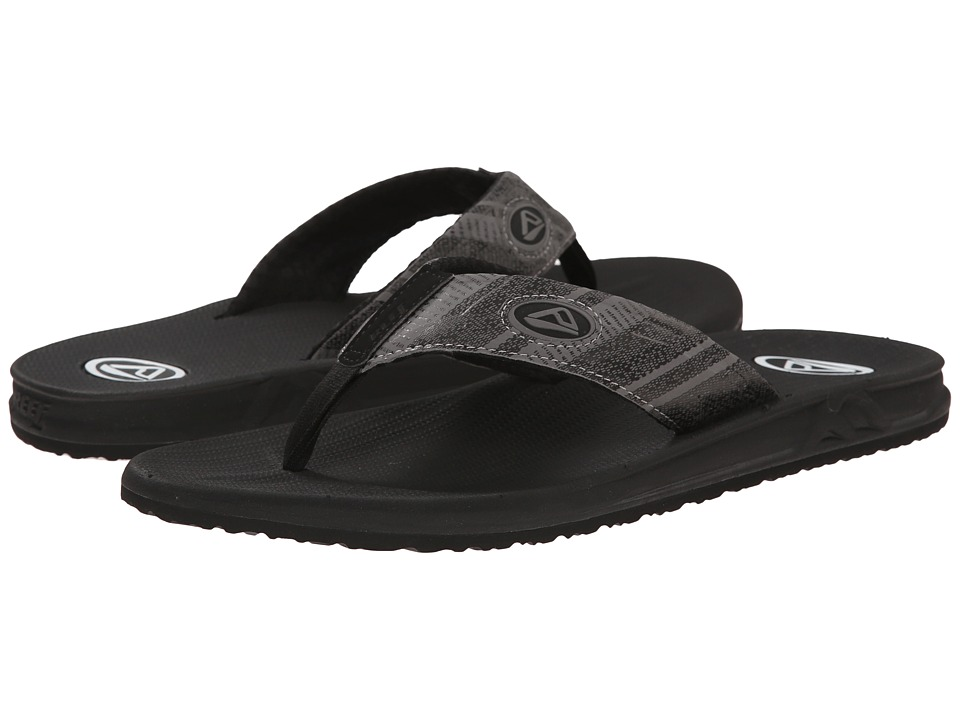 Reef - Phantom Prints (Black Tribal) Men's Sandals