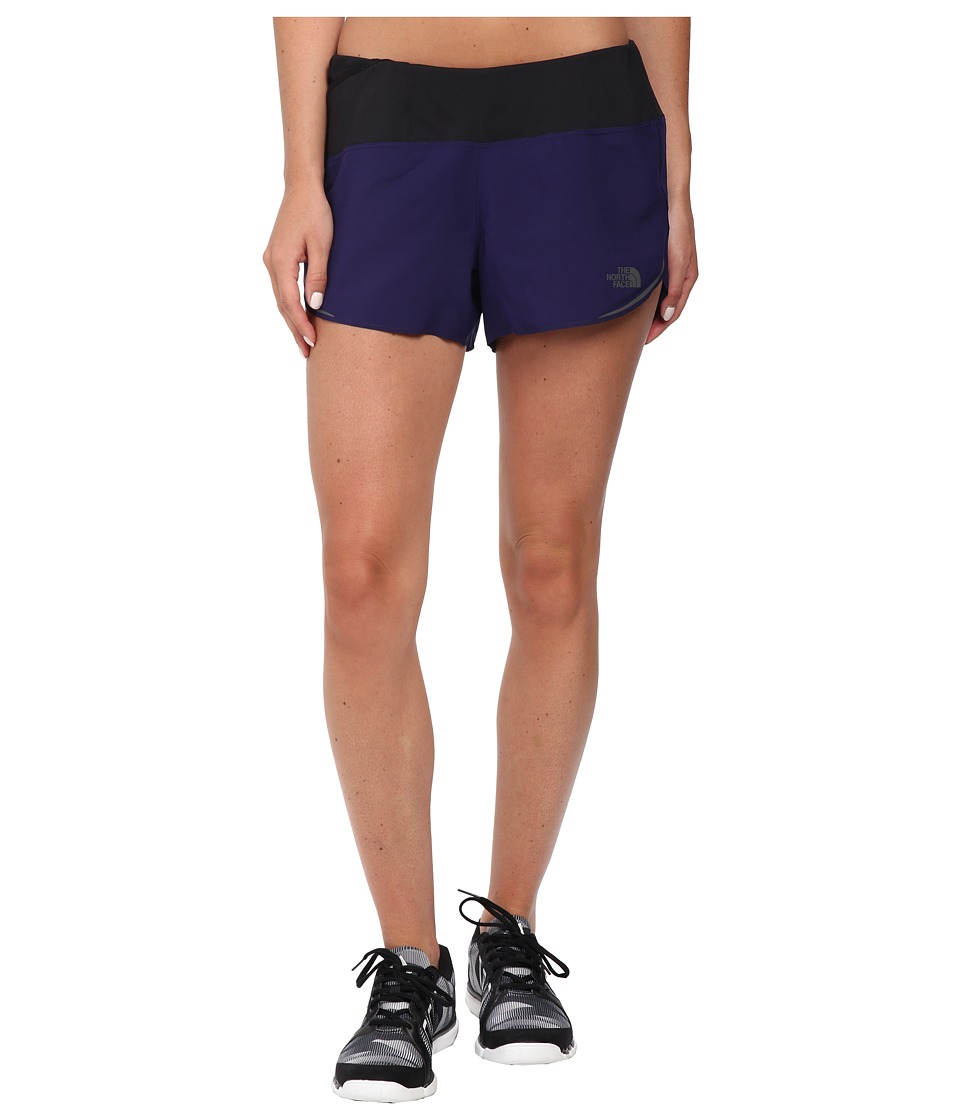 The North Face - Better Than Naked Split Shorts (Garnet Purple/TNF Black) Women's Shorts