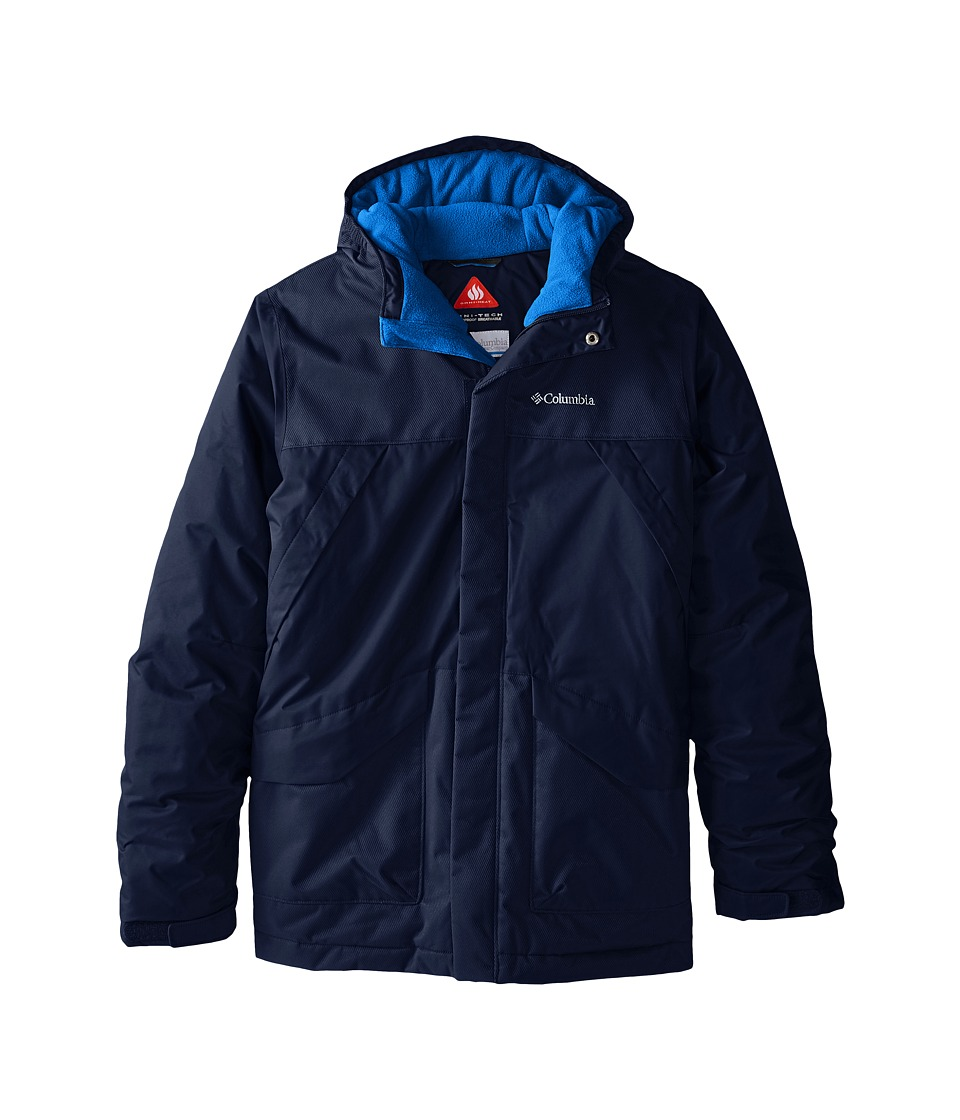 Columbia Kids - Swiss Mister Jacket (Little Kids/Big Kids) (Collegiate Navy) Boy's Coat