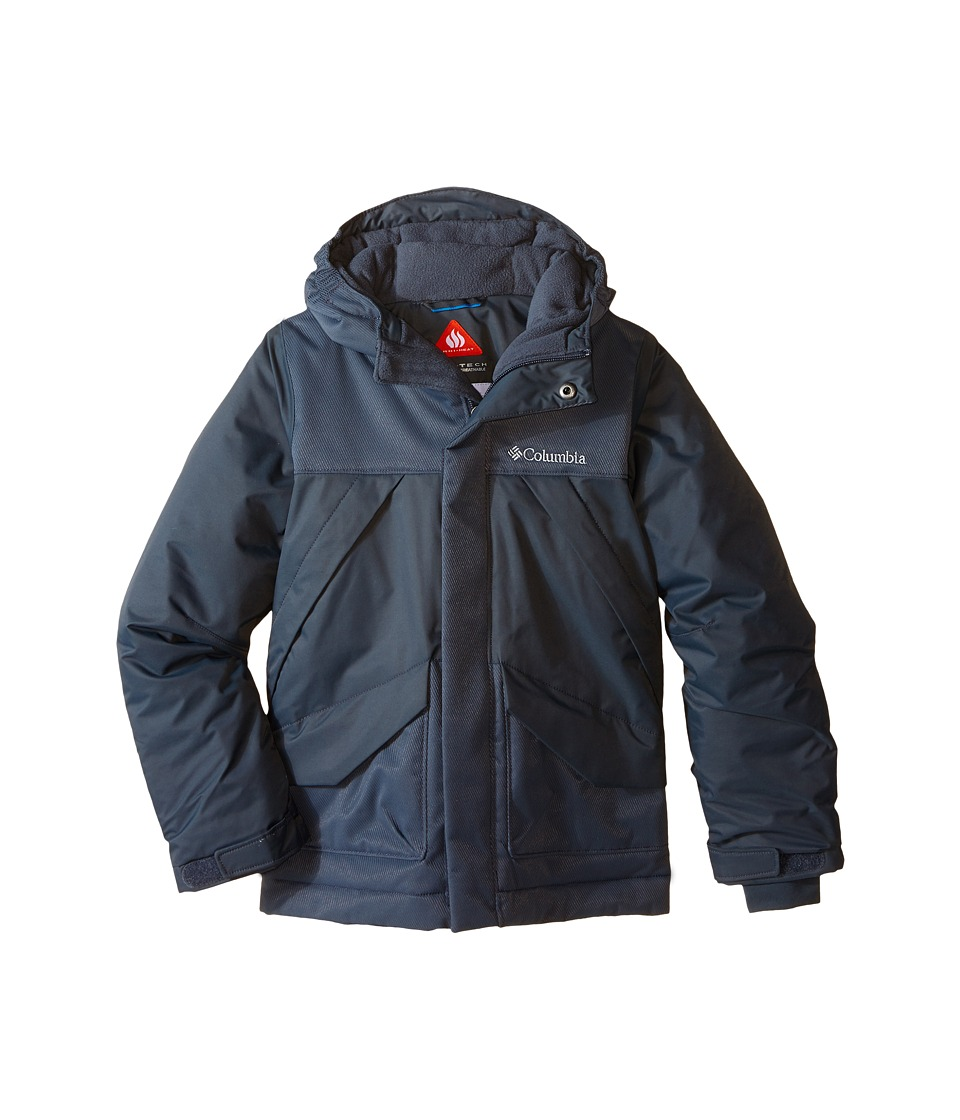 Columbia Kids - Swiss Mister Jacket (Little Kids/Big Kids) (Graphite) Boy's Coat
