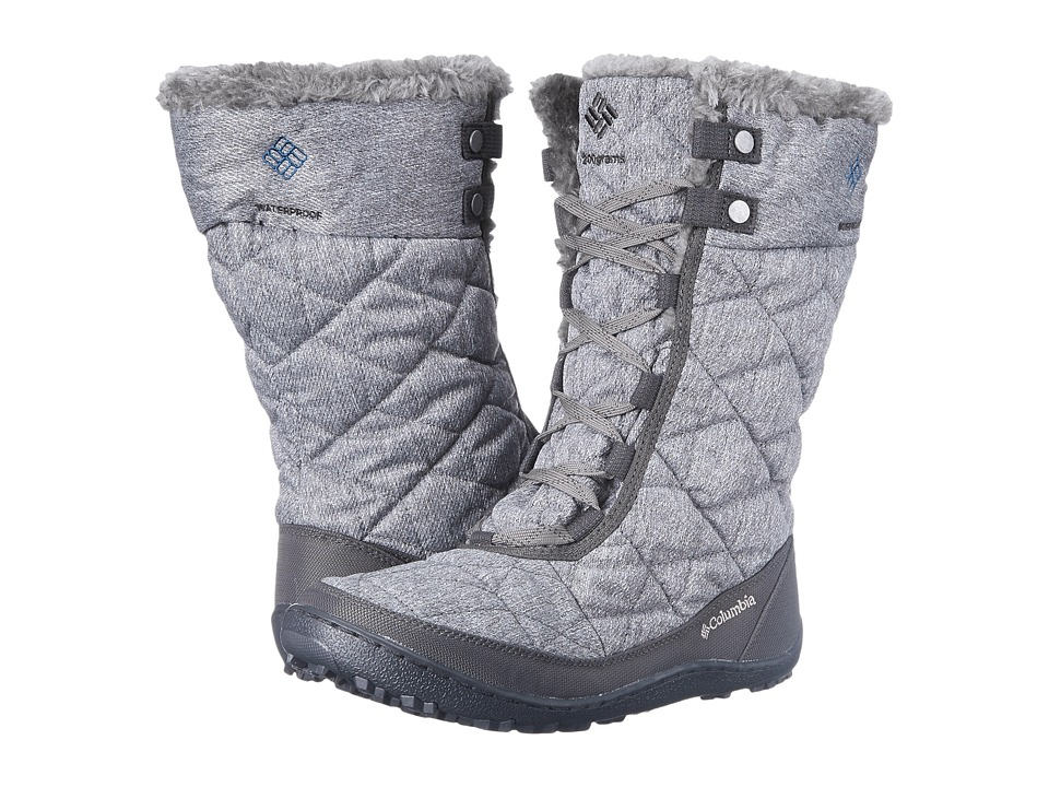 Columbia - Minx Mid II Omni-Heat (Quarry/Jewel) Women's Hiking Boots