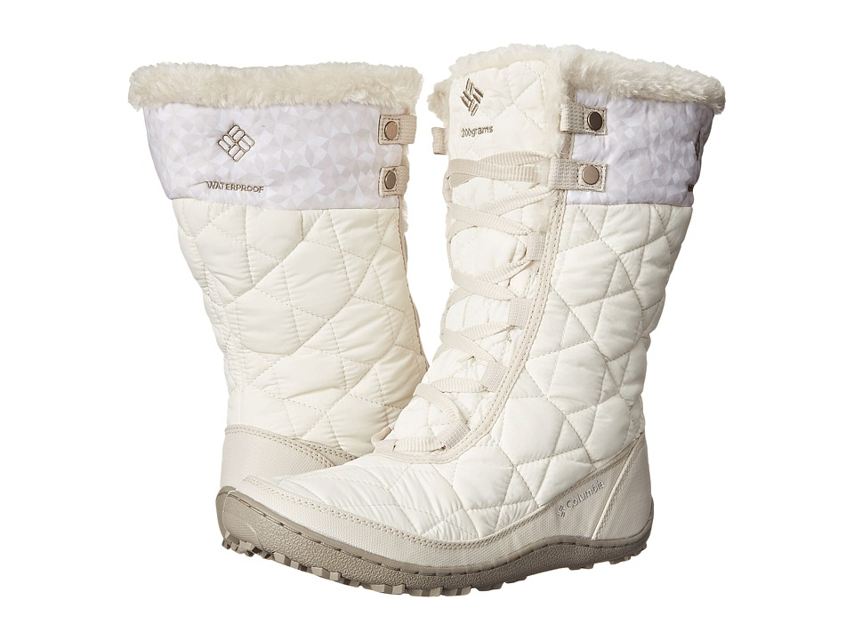 Columbia - Minx Mid II Omni-Heat Print (Sea Salt/Silver Sage) Women's Cold Weather Boots