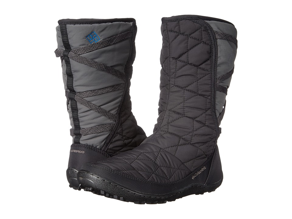 Columbia - Minx Mid Slip Omni-Heat (Black/Jewel) Women's Cold Weather Boots