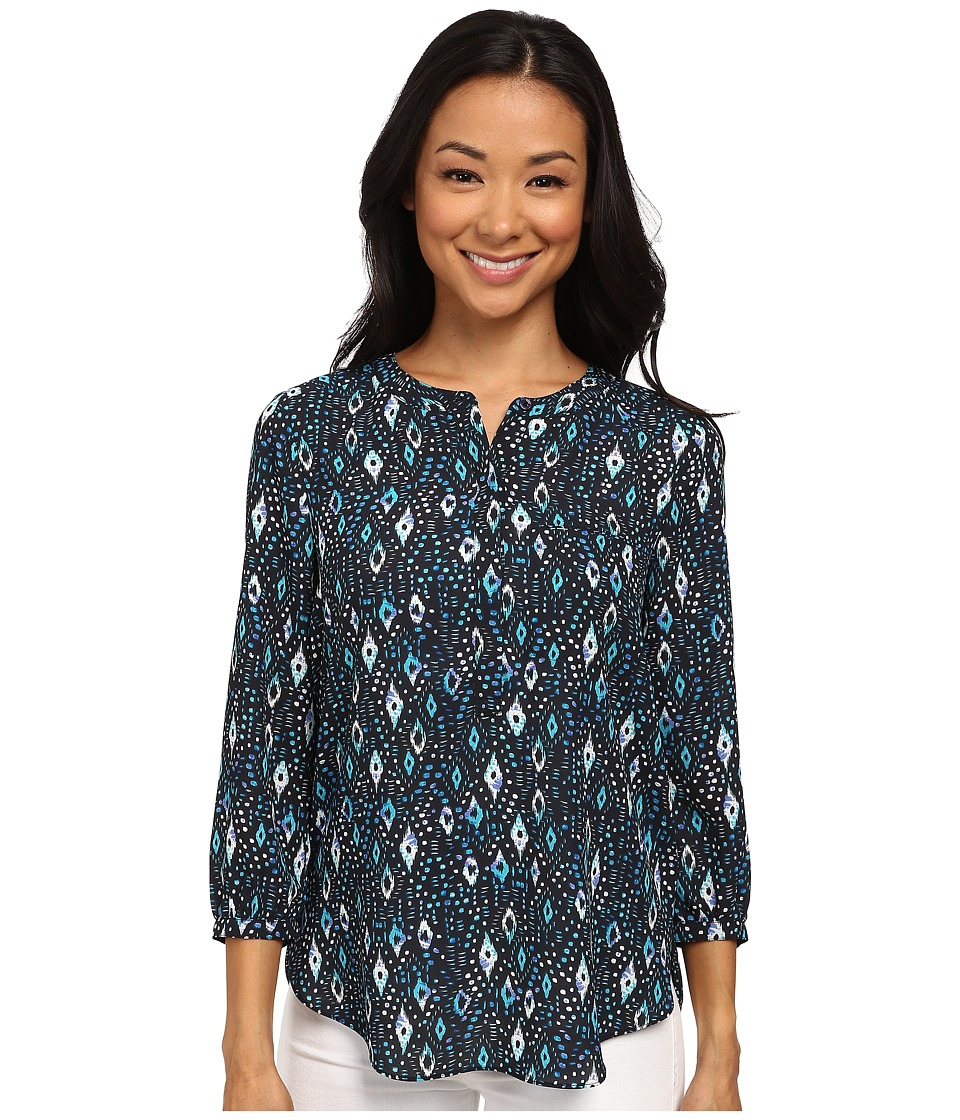 NYDJ - Georgette Blouse (Diamond Twinkle) Women's Blouse