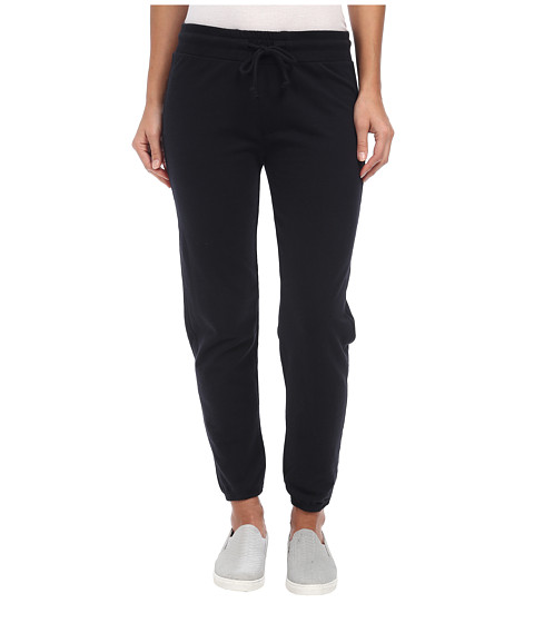 Alternative - Eco Micro Fleece Straight Pants (Black) Women's Casual Pants