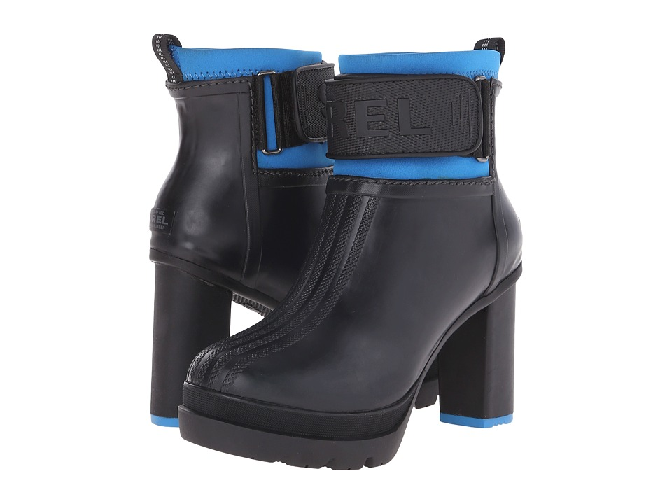 SOREL - Medina III (Black/Hyper Blue) Women's Cold Weather Boots