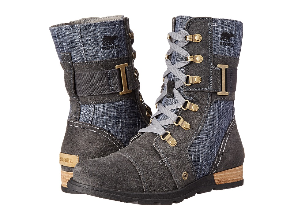 SOREL - Major Carly (Graphite/Shark) Women's Cold Weather Boots