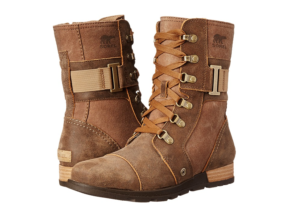 SOREL - Major Carly (Nutmeg/Flax) Women's Cold Weather Boots