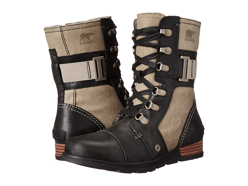 SOREL - Major Carly (Wet Sand/Black) Women's Cold Weather Boots