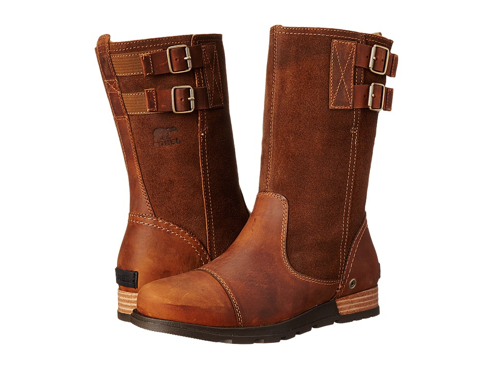 SOREL - Major Pull On (Grizzly Bear/British Tan) Women's Cold Weather Boots