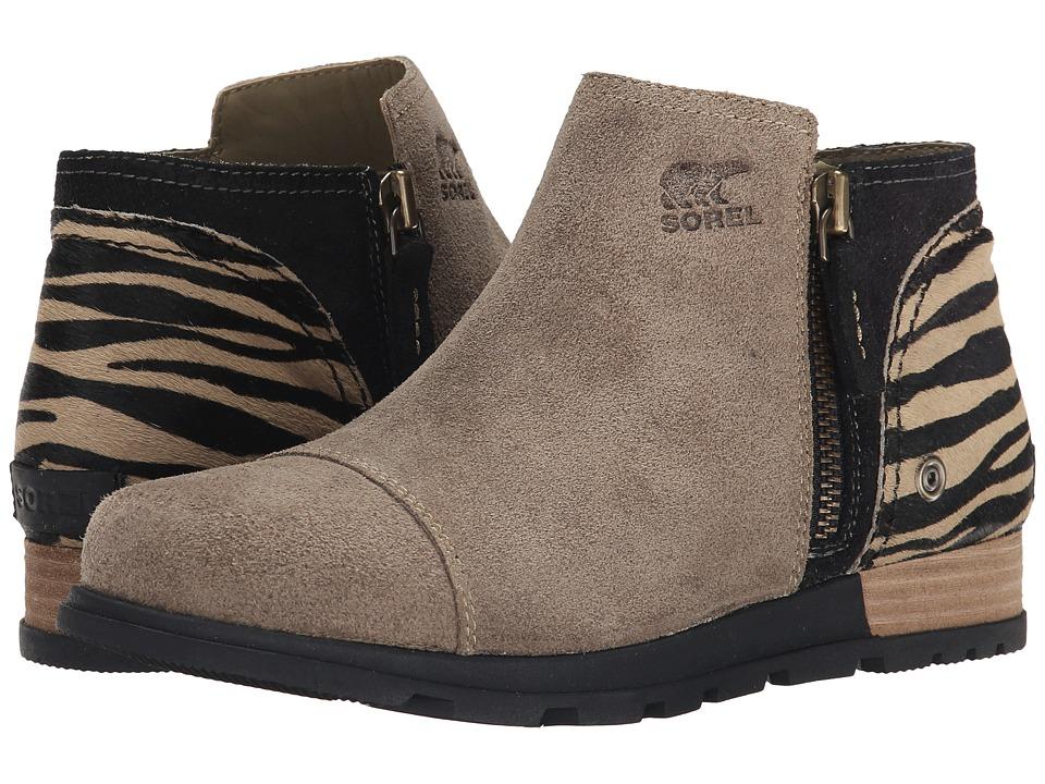 SOREL - Major Low Premium (British Tan/Black) Women's Zip Boots