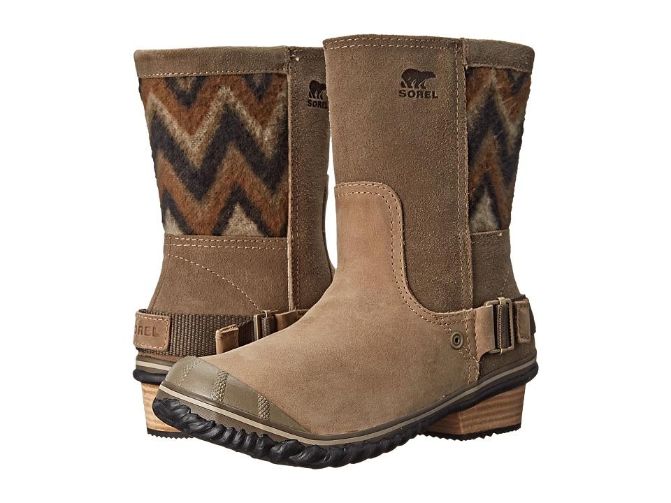 SOREL - Slimshortie (Pebble/Silver Sage) Women's Boots