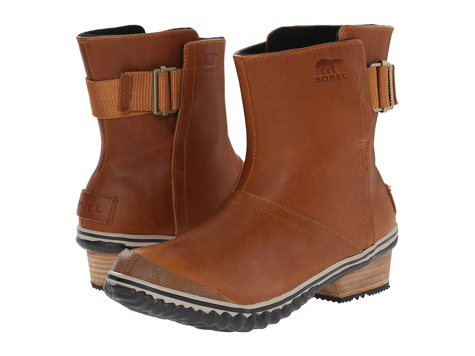 SOREL - Slimboot Pull On (Elk) Women's Pull-on Boots