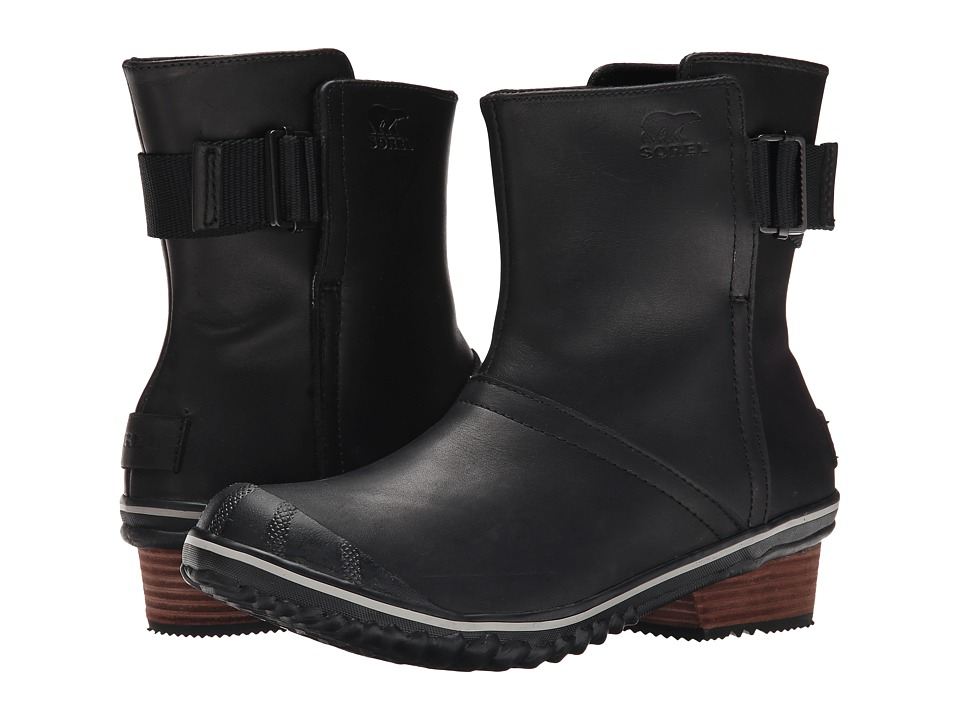 SOREL - Slimboot Pull On (Black) Women's Pull-on Boots
