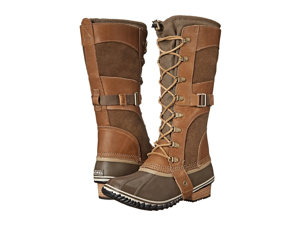 SOREL Conquest Carly (British Tan/Flax) Women