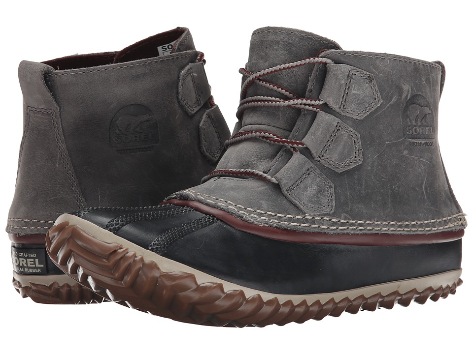 SOREL - Out 'N About Leather (Quarry/Madder Brown) Women's Boots