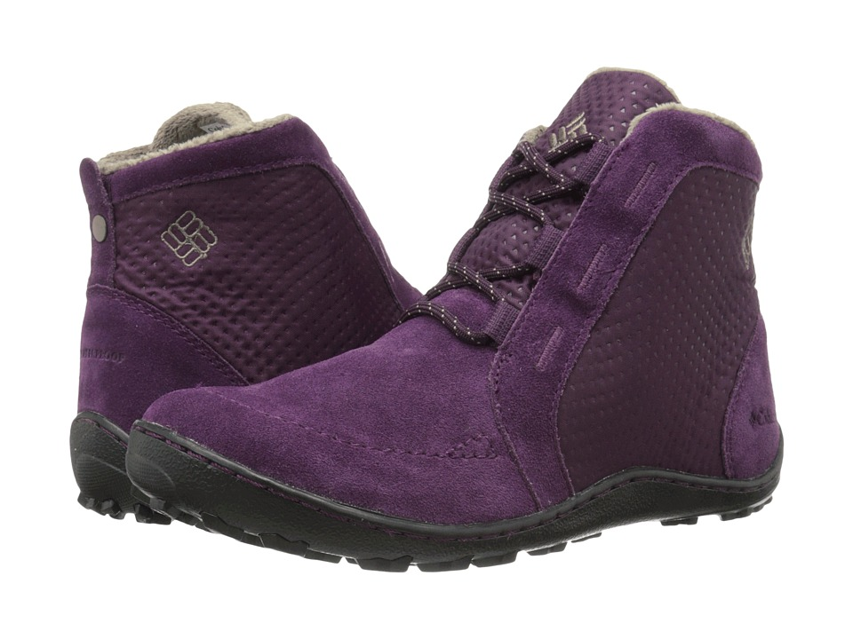 Columbia - Minx Nocca (Purple Dahlia/Wet Sand) Women's Cold Weather Boots