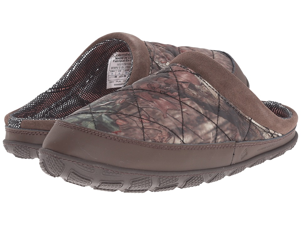 Columbia - Packed Out II Omni-Heat Camo (Mossy Oak/Sorbet) Women's Slippers