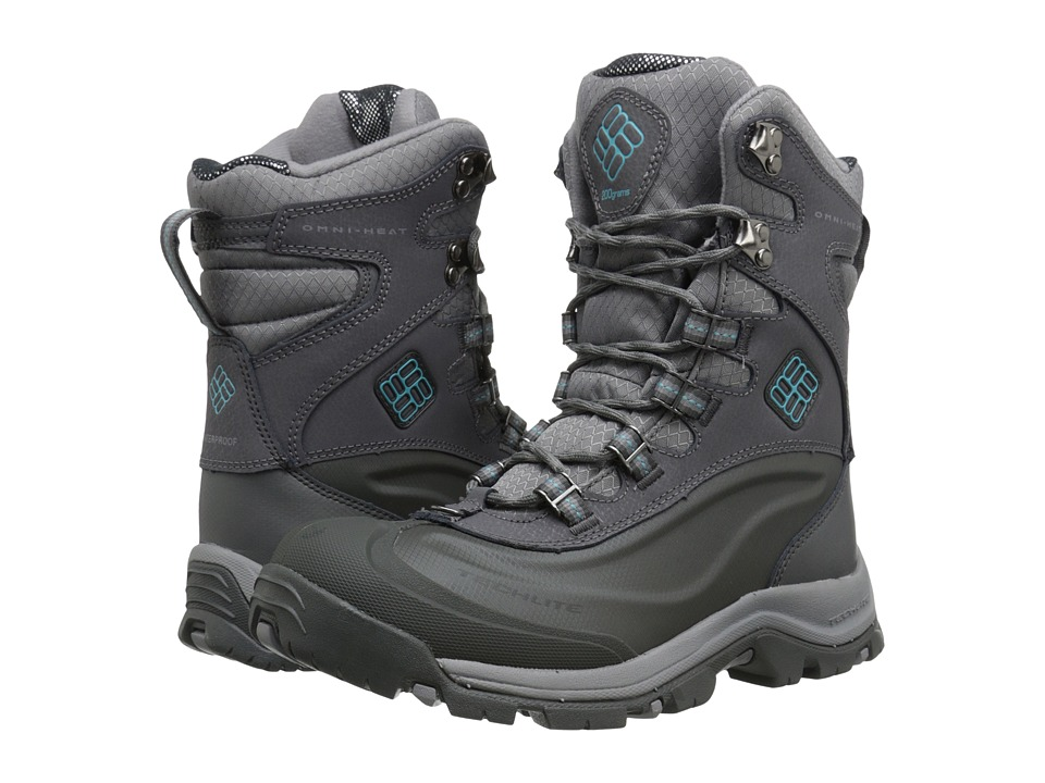 Columbia - Bugaboot Plus III Omni-Heat (Shale/Aqua) Women's Cold Weather Boots