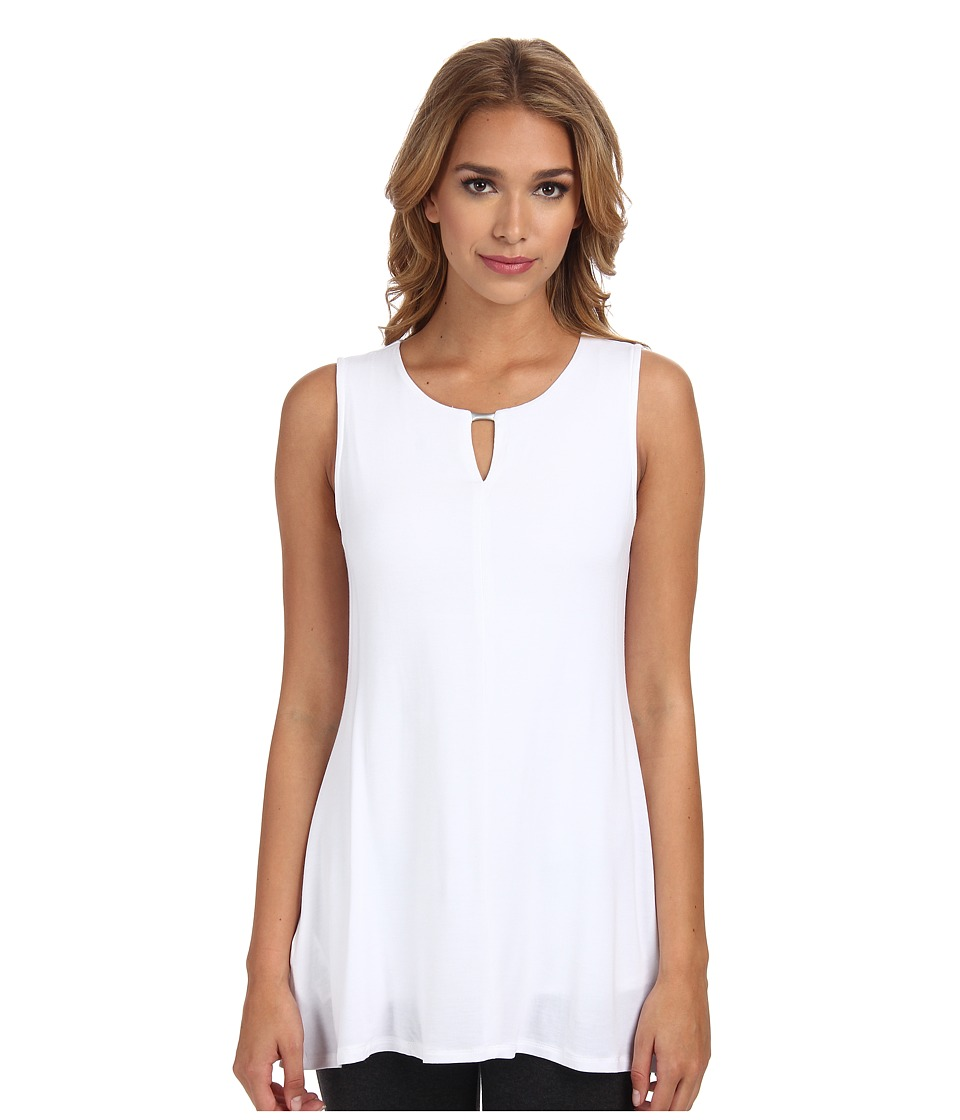 Lysse - Vista Sleeveless (White) Women's Sleeveless