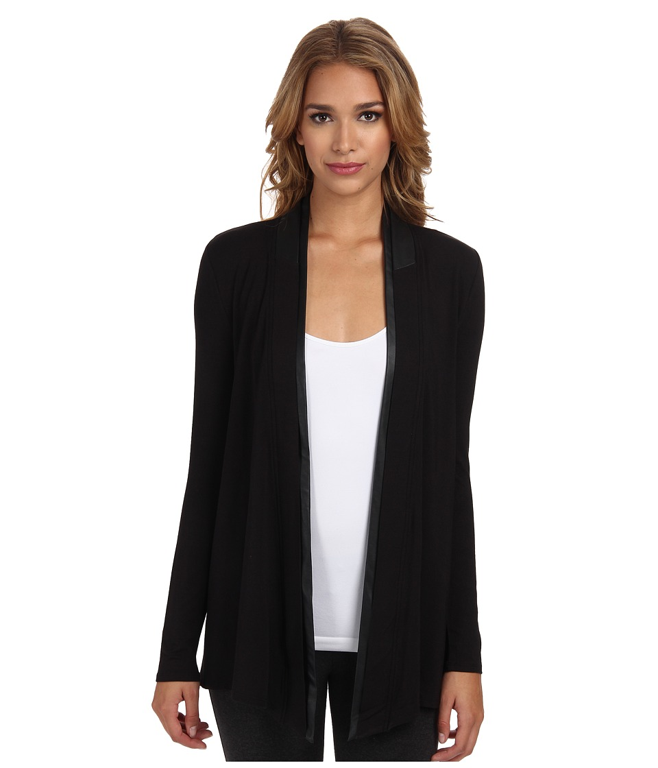 Lysse - Canyon Drape Wrap (Black) Women's Sweater