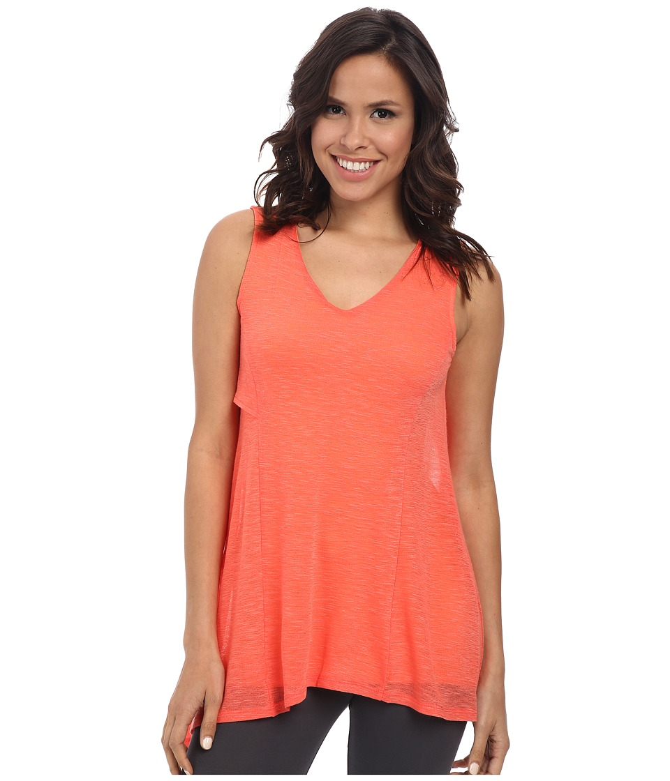 Lysse - Yucca Tunic Top (Red Coral) Women's Sleeveless