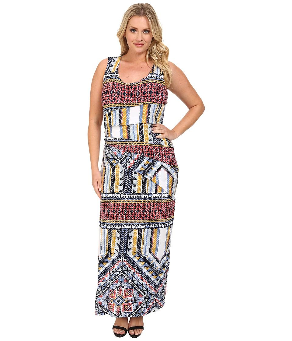 Lysse - Plus Size Maxi Dress (Sedona Print) Women's Dress