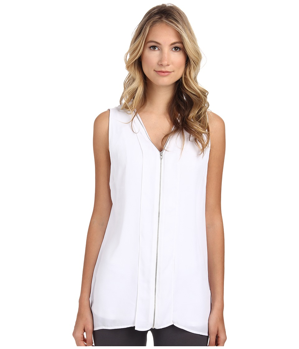 Lysse - Sequro Sleeveless (White) Women's Sleeveless