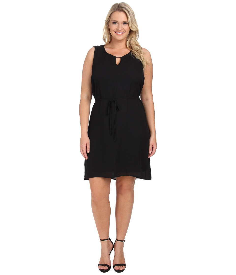 Lysse - Plus Size Vista Dress (Black) Women's Dress