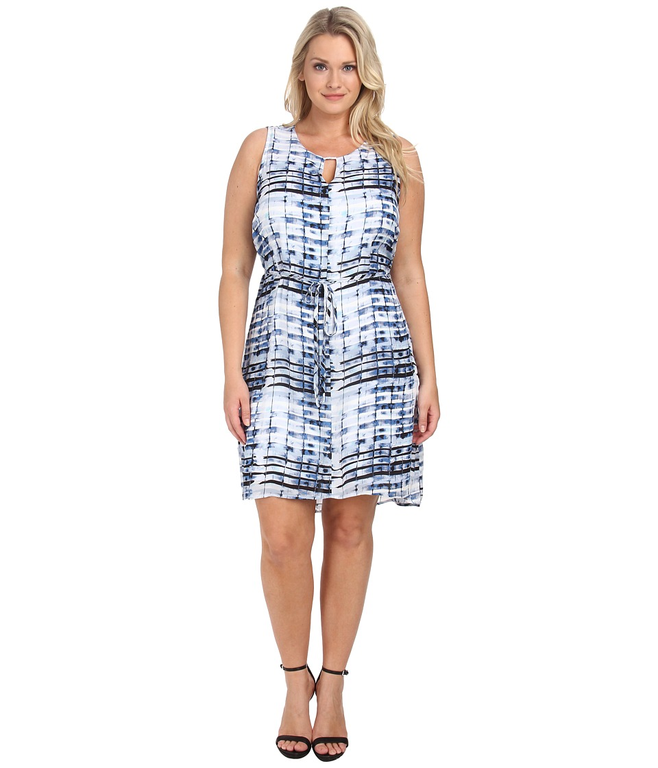 Lysse - Plus Size Vista Dress (Bamboo Print) Women's Dress