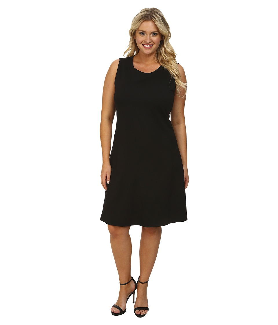 Lysse - Plus Size Margot Dress (Black) Women's Dress