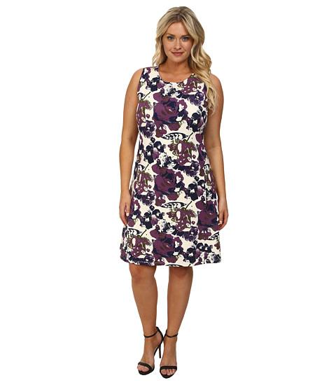 Lysse - Plus Size Margot Dress (Garden Aura) Women's Dress