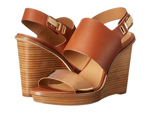 Calvin Klein - Perdita (Whiskey/Bronze Box Metallic/Cow Silk) Women