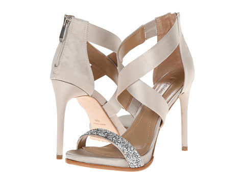 BCBGMAXAZRIA - Elyse (Dust Satin/Beads) High Heels