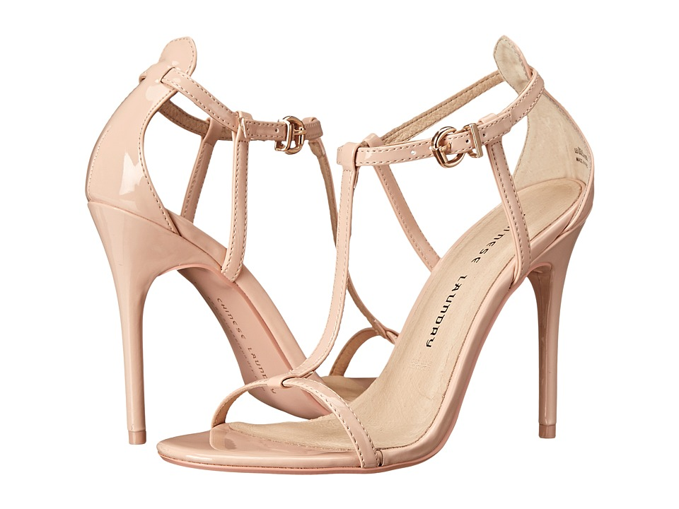 Chinese Laundry - Leo T Strap Sandal (Soft Pink Patent) High Heels