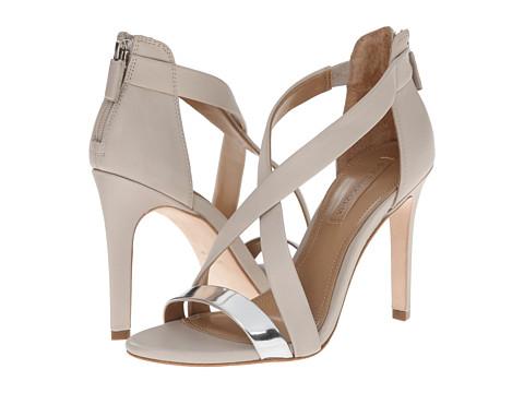 BCBGMAXAZRIA - Rainn (Silver/Dust Specio/Calf) High Heels