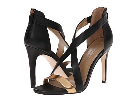 BCBGMAXAZRIA - Rainn (Gold/Black Specio/Calf) High Heels