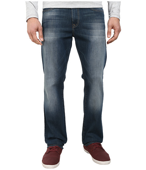 Mavi Jeans - Myles Midrise Straight Leg in Dark Deep Yaletown (Dark Deep Yaletown) Men's Jeans