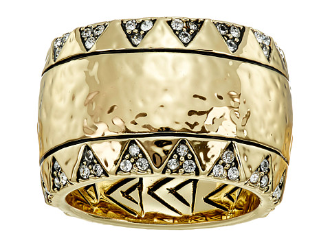 House of Harlow 1960 - Safari Band Ring (Gold Tone) Ring