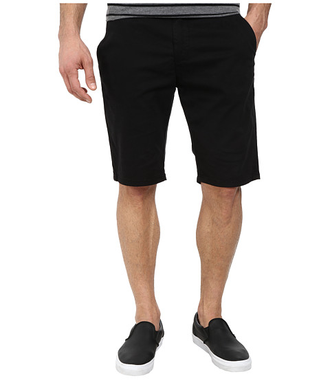 Mavi Jeans - Jacob Midrise Chino Shorts (Black Twill) Men