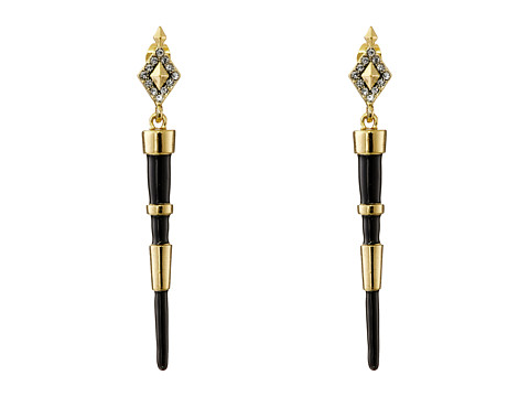 House of Harlow 1960 - Rift Valley Drop Earrings (Black) Earring
