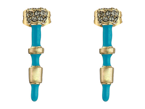 House of Harlow 1960 - Rift Valley Stud Earrings (Turquoise) Earring