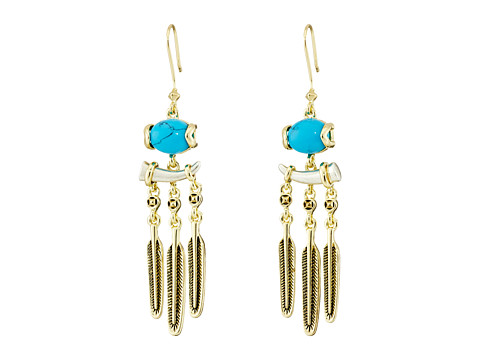 House of Harlow 1960 - Ankolie Earrings (Turquoise) Earring