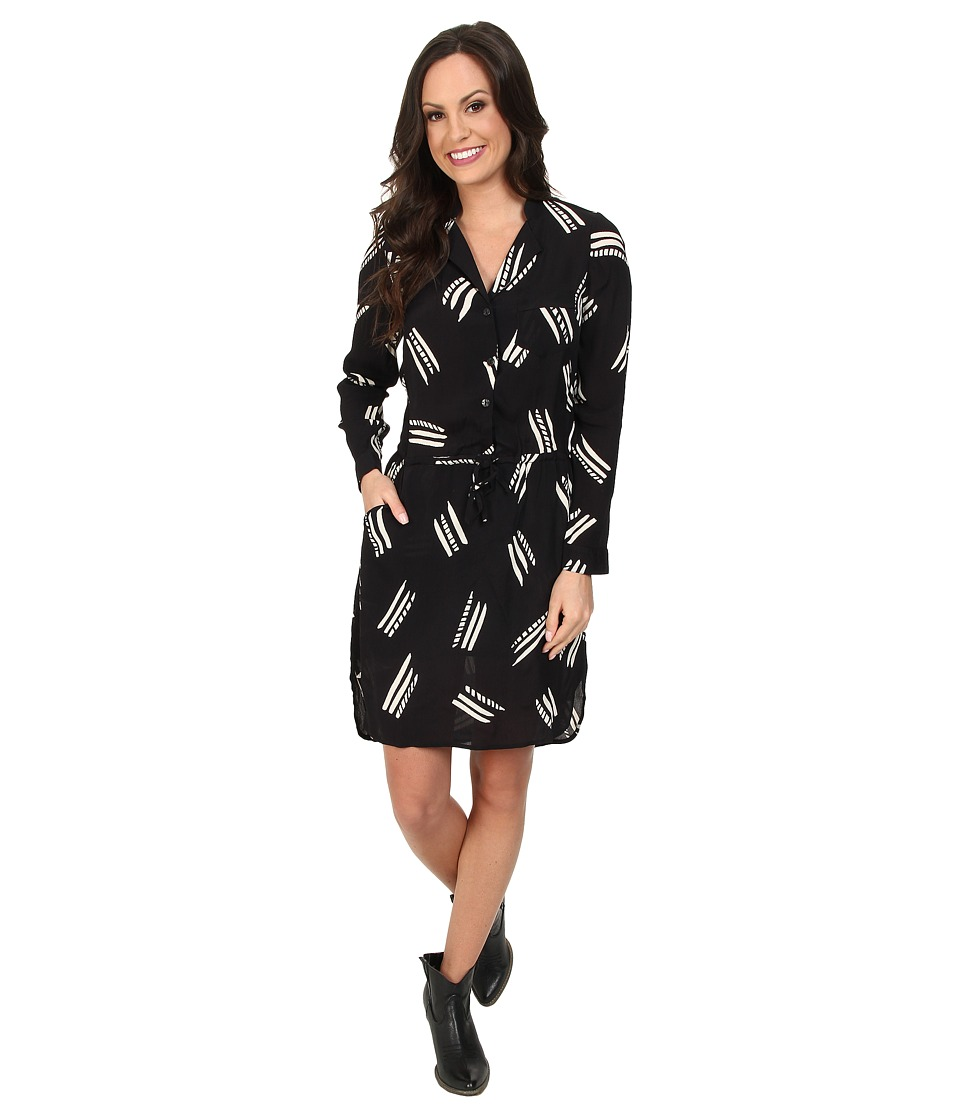 Lucky Brand - Everyday Shift Dress (Black Multi) Women's Dress