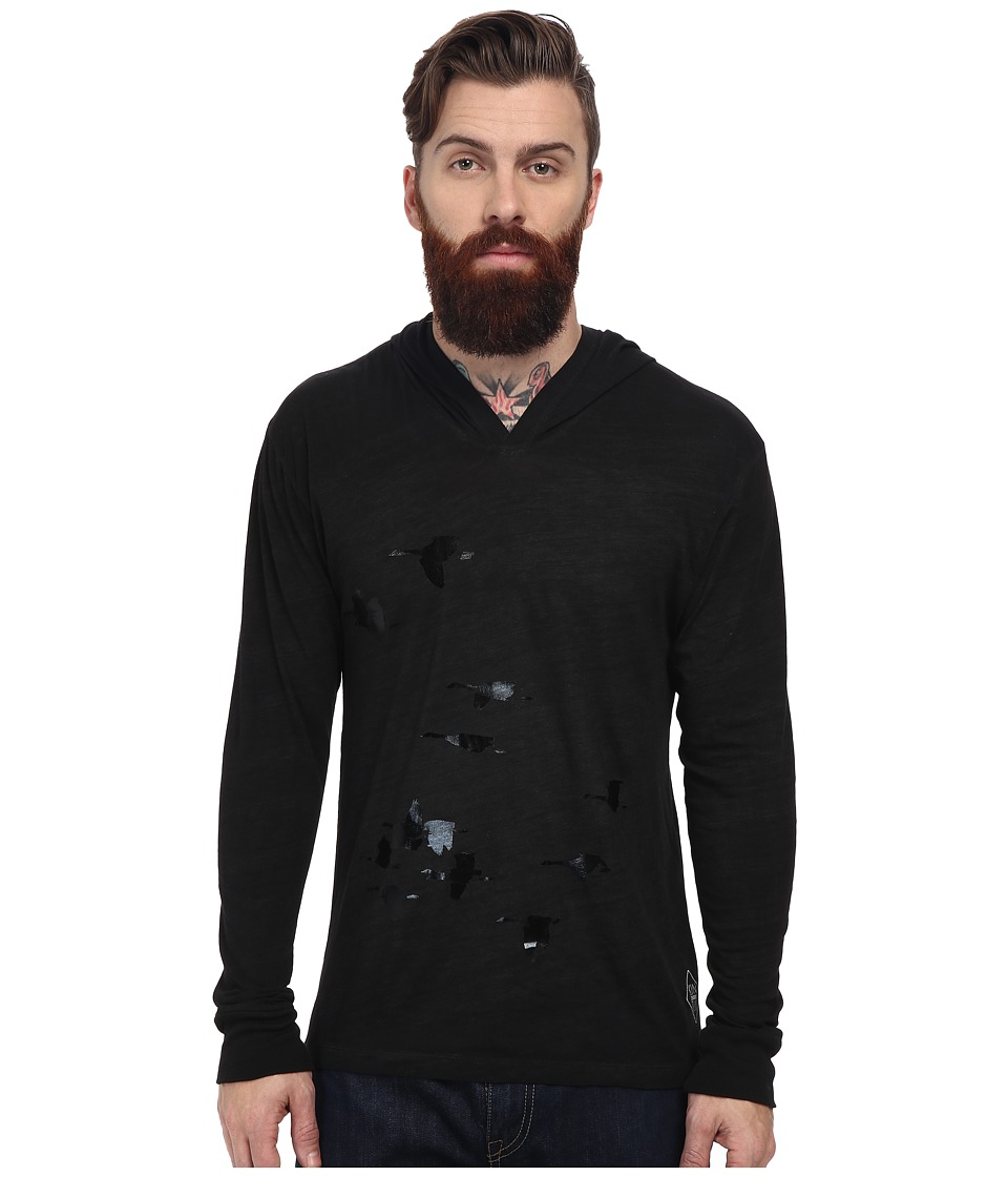 KINETIX - Black Birds Hoodie (Black Foil) Men's Sweatshirt