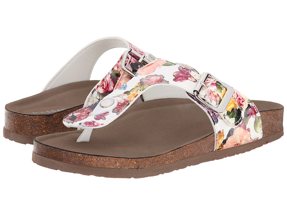 Madden Girl - Boise (White Multi) Women's Sandals