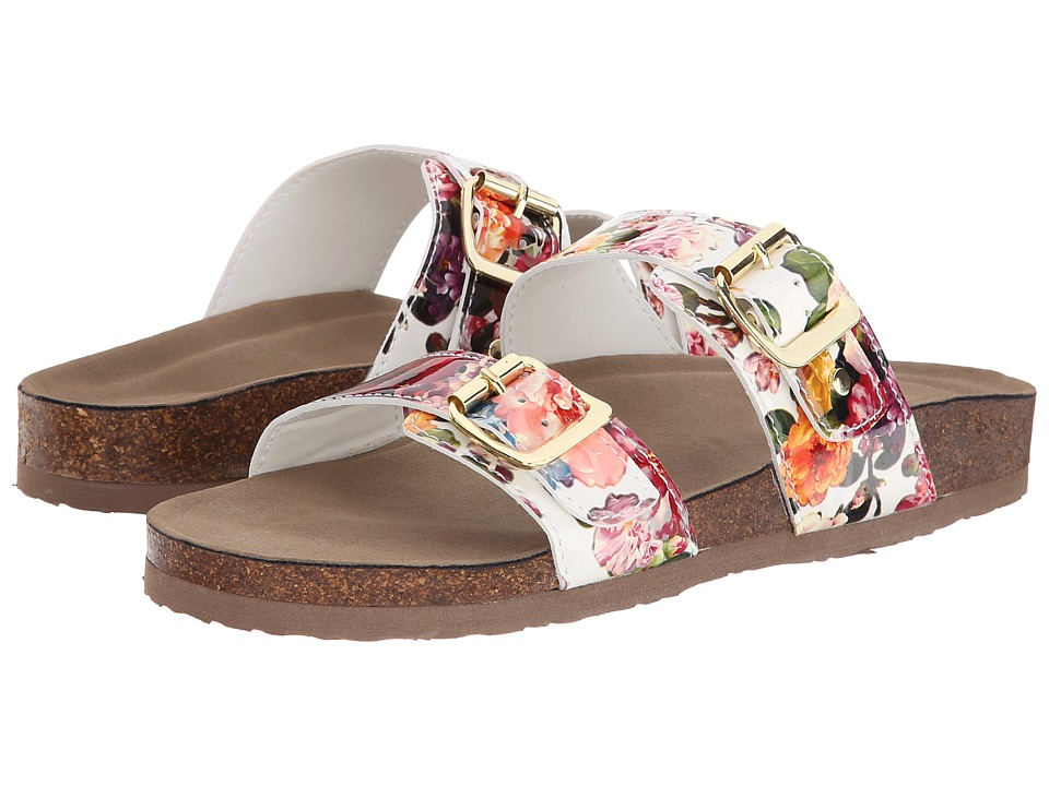 Madden Girl - Brando (White Multi) Women's Sandals