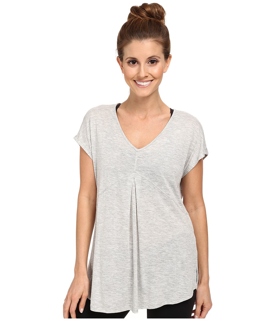 Pink Lotus - Shera Sleeveless Seamed Top (Heather Grey) Women